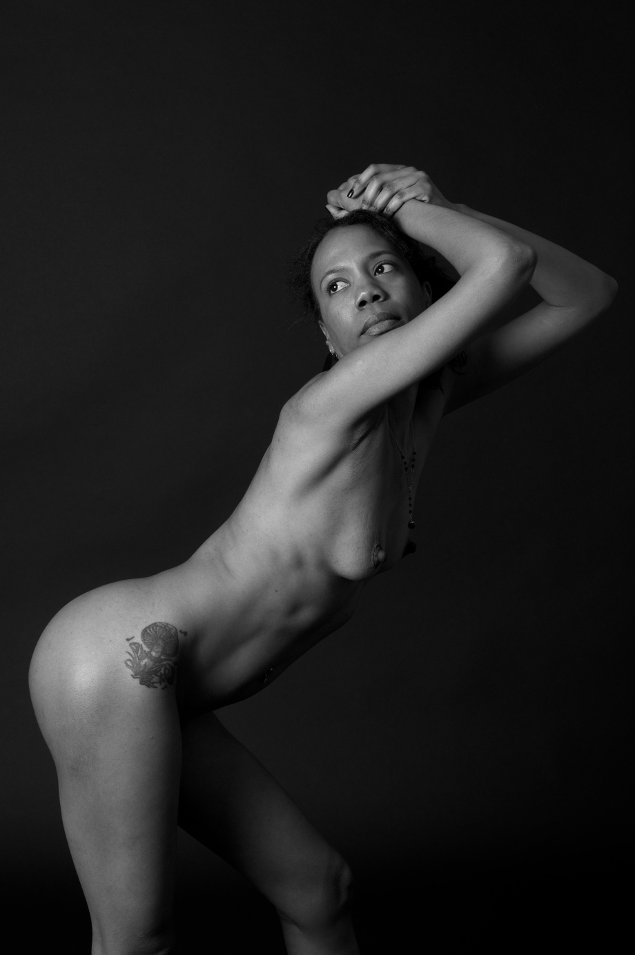 Yoga, Nude, Topless, Cork, Studio shoot, erotic, glamour