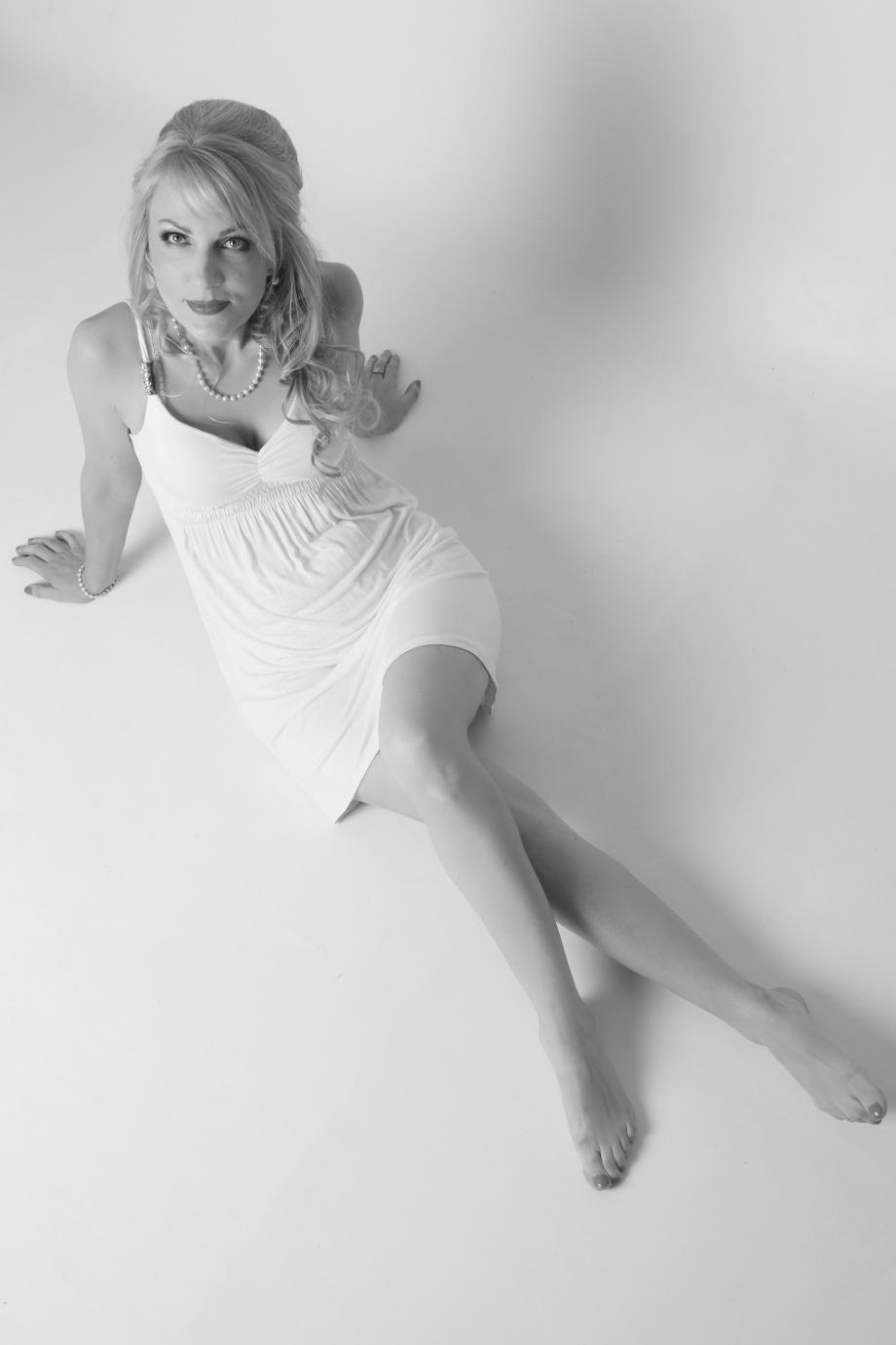 glamour, portrait, studio