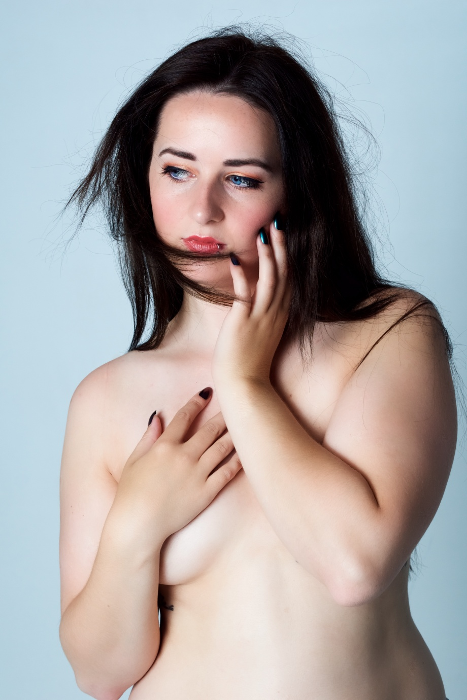 glamour, studio shoot, sexy, topless, implied, cork, ireland, boudoir