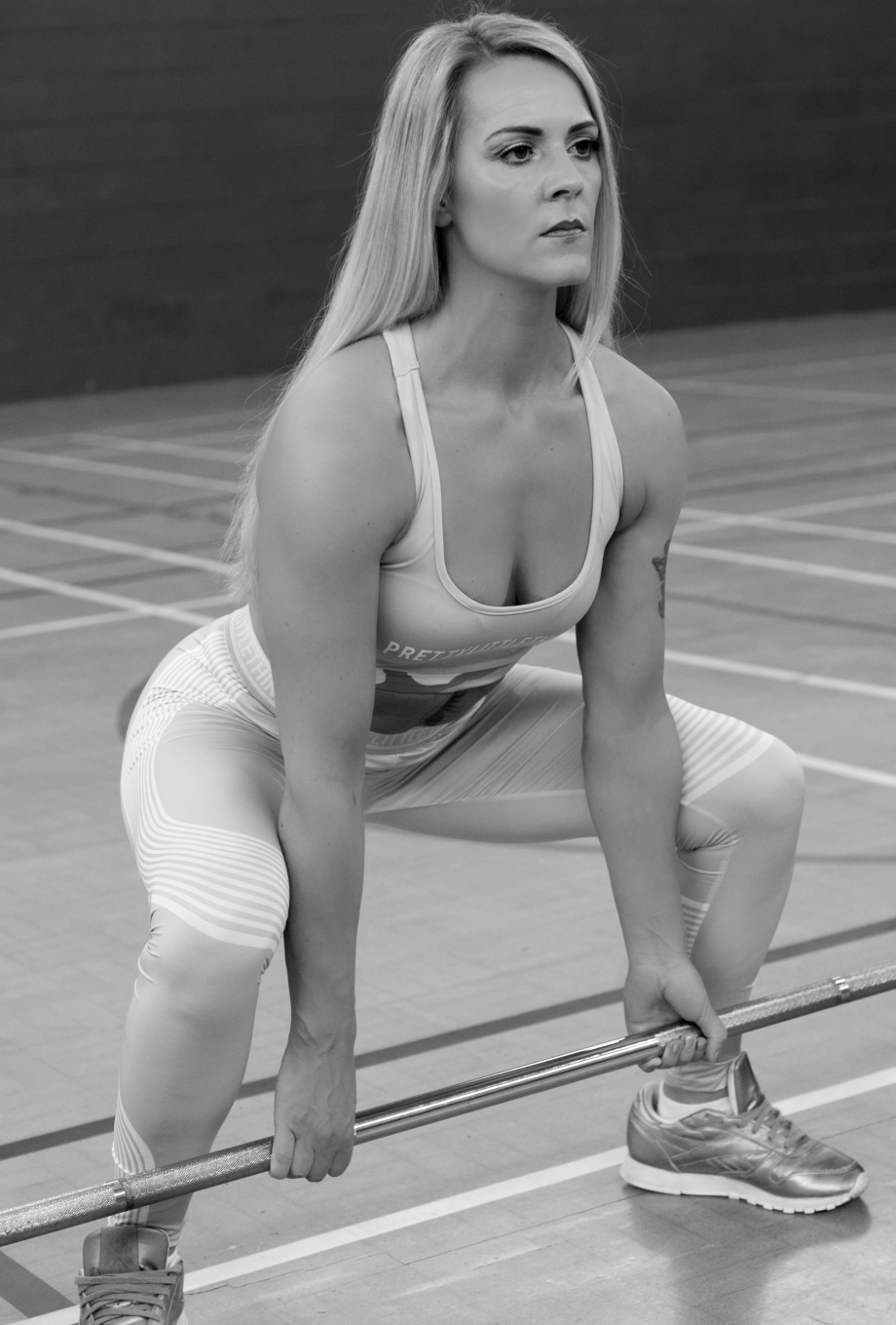 fitness, photoshoot, gym, coach, trainer, mayfield, sports, glamour, black and white, weights