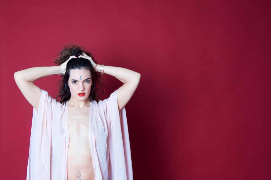 red, topless, implied, studio, femininity, hair, cork, models, ireland