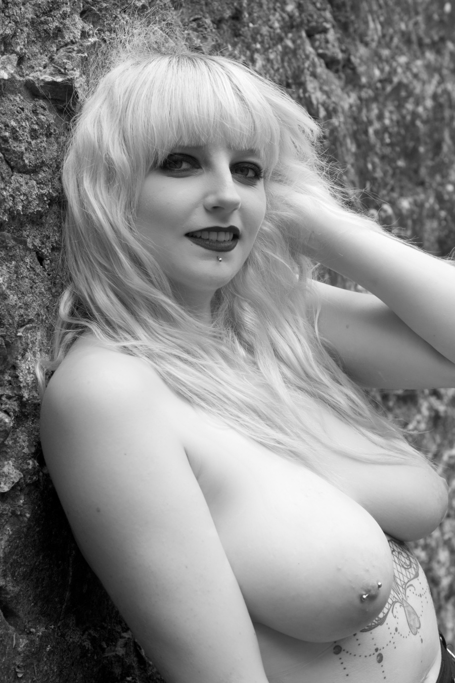 Glamour, boudoir, alternative, ruins, cork, ireland, gothic, topless