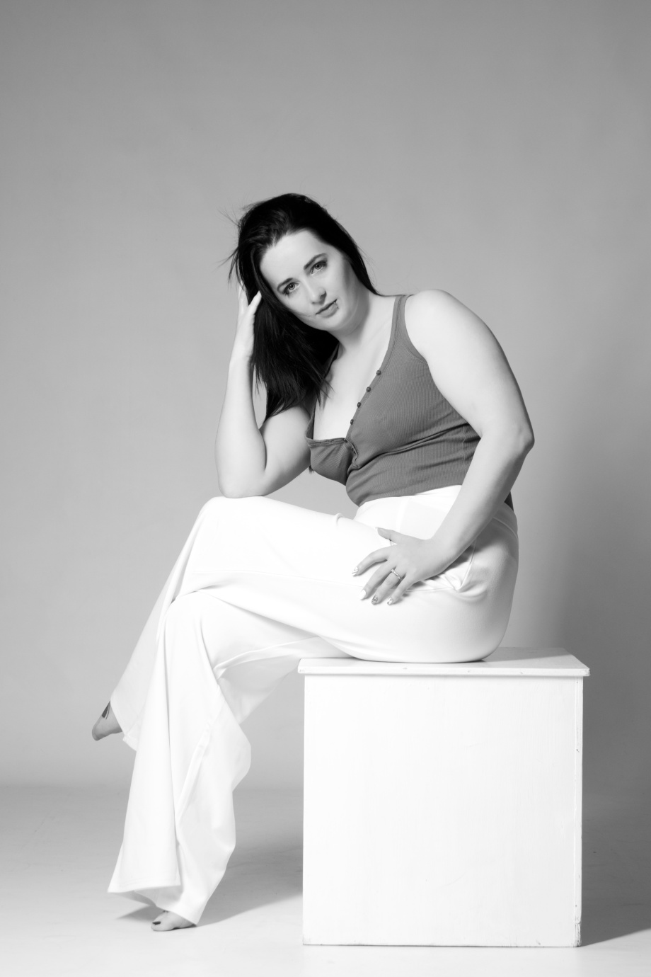 cork, glamour, photoshoot, studio, ireland, black and white