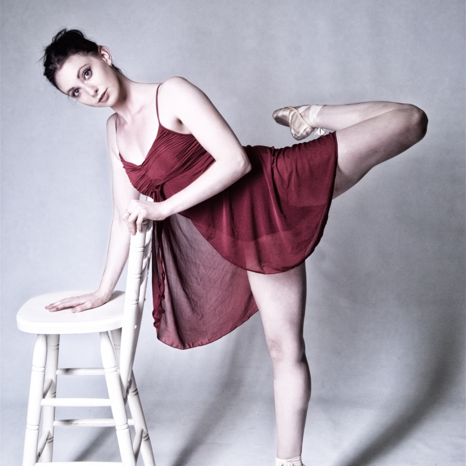 ballet dancer, studio shoot, cork, ireland, graceful