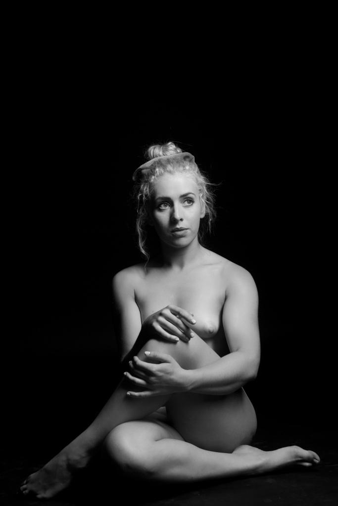 art nude, black and white, studio photography, cork, ireland